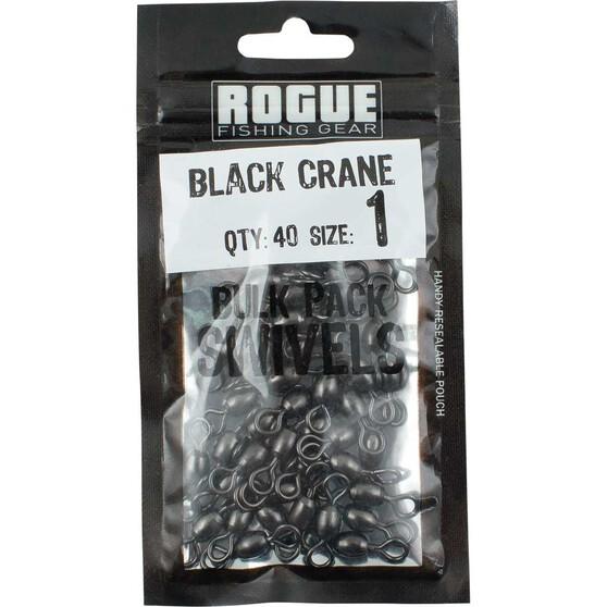 Rogue Black Crane Swivel 40 Pack, , bcf_hi-res