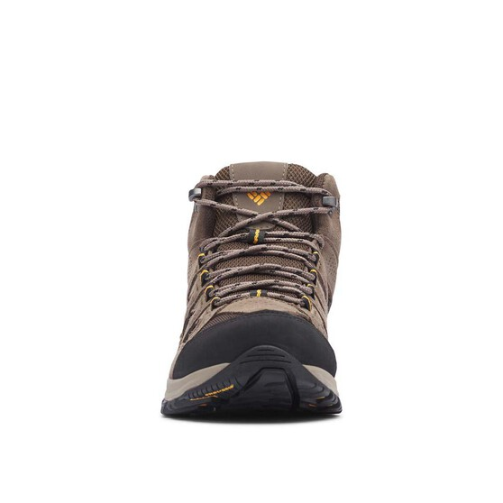 Columbia Men's Crestwood Mid Hiker Boots, Cordovan / Squash, bcf_hi-res