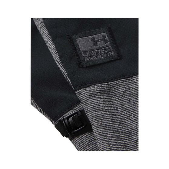 Under Armour Men's CGI Fleece Gloves, Black / Black / Black, bcf_hi-res
