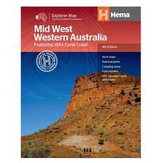 Hema Mid Western Australia Map, , bcf_hi-res