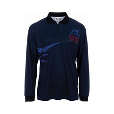 The Great Northern Brewing Co. Mens Zero Sublimated Polo Navy S, Navy, bcf_hi-res