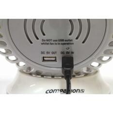 Companion 6in Rechargable Fan, , bcf_hi-res