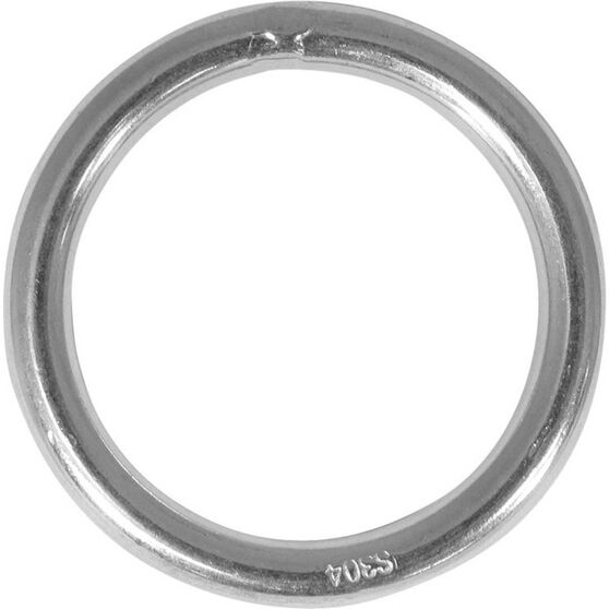 Blueline Stainless Steel Ring 6x40mm, , bcf_hi-res