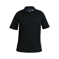 Quiksilver Waterman Men's Water 2 Polo Black S, Black, bcf_hi-res