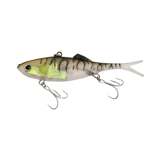 Berkley Shimma Shad Fork Tail Vibe Lure 100mm Bait Fish, Bait Fish, bcf_hi-res