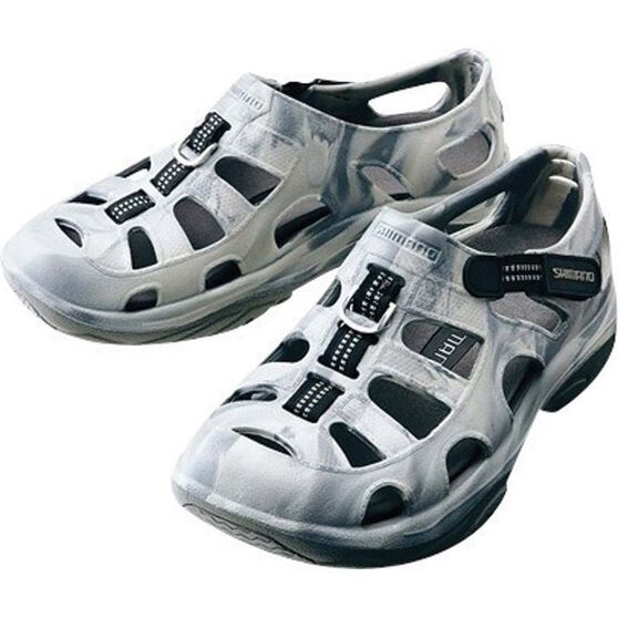Shimano Men's Evair Aqua Shoes, Grey / Camo, bcf_hi-res