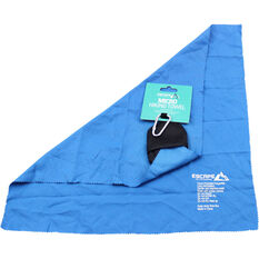 Hiking Micro Towel Blue S, Blue, bcf_hi-res