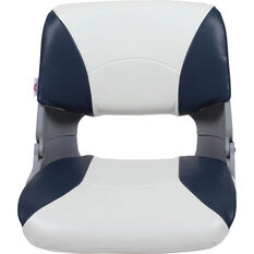 Blueline Tinnie Pro Boat Seat, Blue / White, bcf_hi-res