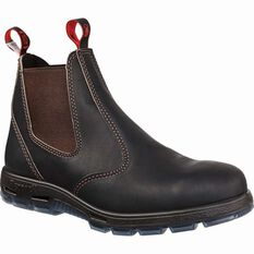 Men's UBOK Bobcat Work Boots Claret UK 4, Claret, bcf_hi-res