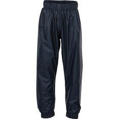 OUTRAK Kids' Packaway Rain Pants Night 10, Night, bcf_hi-res