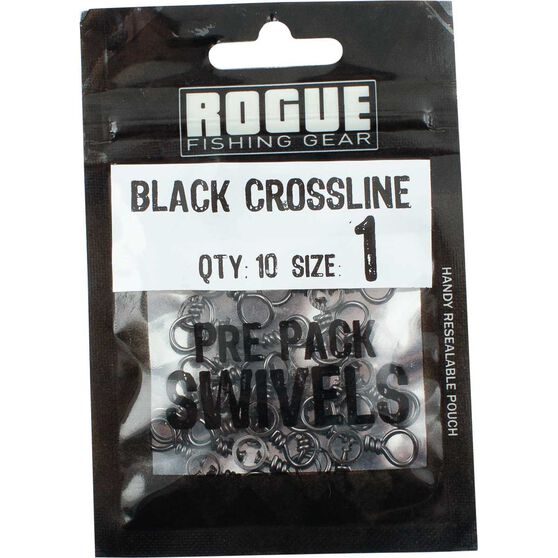 Rogue Black Crossline Swivel 10 Pack, , bcf_hi-res
