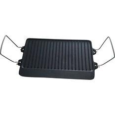 Wanderer Reversible Cast Iron Cook Plate 2 Burner, , bcf_hi-res