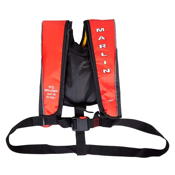Marlin Australia Adult Manual/Auto Inflatable PFD 150, , bcf_hi-res