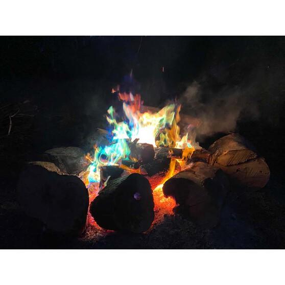 Oztrail Colour Change Flames 25g, , bcf_hi-res