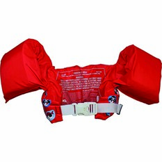 Marlin Puddle Jumper Swim Vest Red, Red, bcf_hi-res