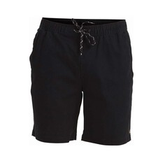Quiksilver Men's Cabo Shore Cotton Shorts Black S, Black, bcf_hi-res
