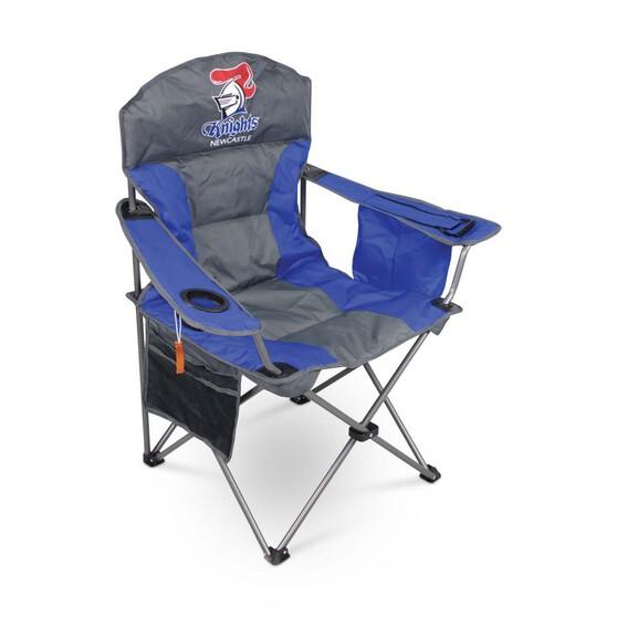 NRL Newcastle Knights Camp Chair, , bcf_hi-res