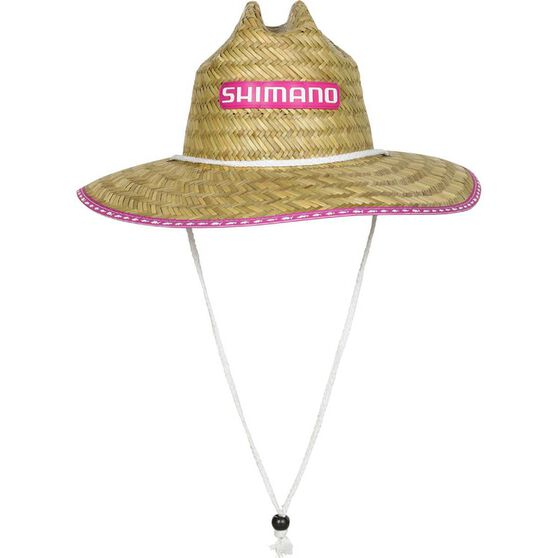 Shimano Women's Logo Straw Hat, , bcf_hi-res