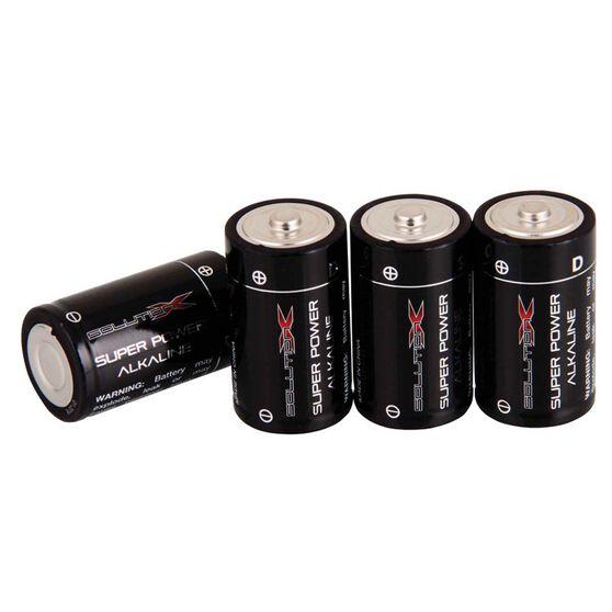 Solution X D Alkaline Batteries 4 Pack, , bcf_hi-res