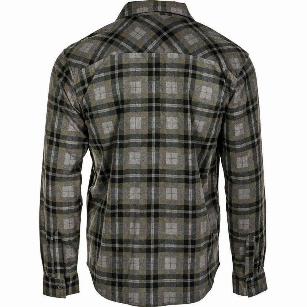 87de2afa Outdoor Expedition Men's Flannel Long Sleeve Shirt Khaki M, Khaki,  bcf_hi-res