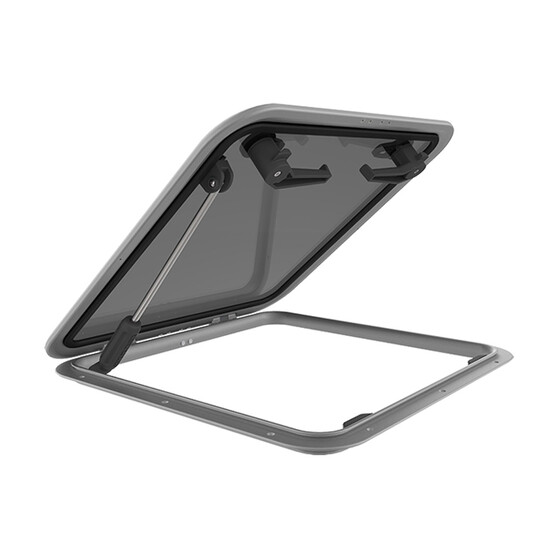 Lewmar Low Profile 60 507x507mm Hatch With Stay, , bcf_hi-res