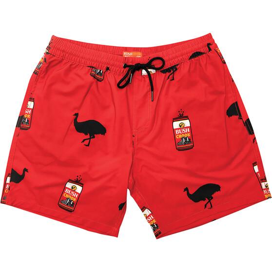 Bush Chook Men's Filthy Chook Volley Shorts, , bcf_hi-res
