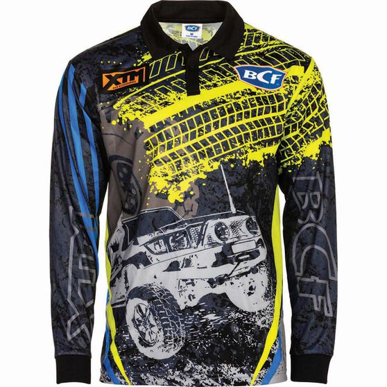 BCF Men's 4WD Sublimated Polo, , bcf_hi-res