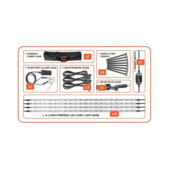 Xtm 4 Bar Light Kit Bcf