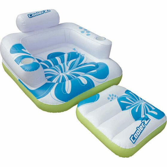 Inflatable Tiki Time Lounger, , bcf_hi-res