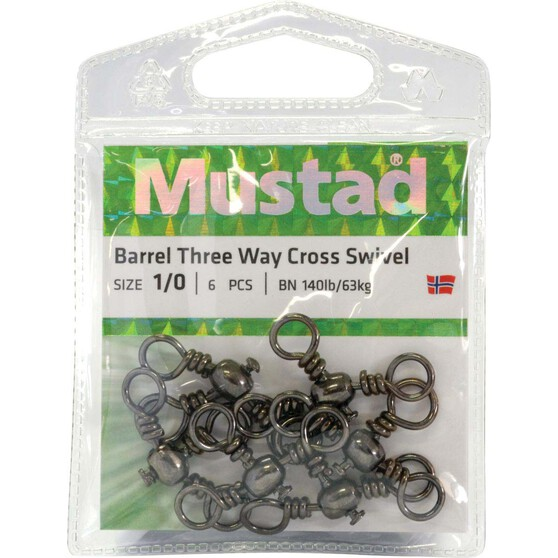 Mustad 3 way cross Swivel, , bcf_hi-res