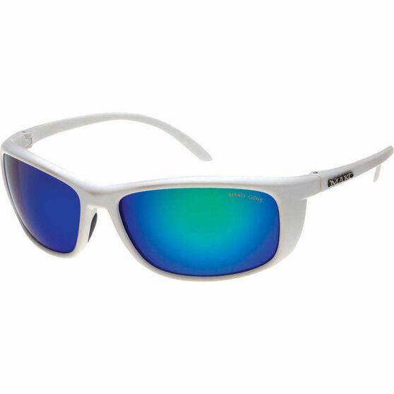 MAKO Blade Polarised Sunglasses Matte White, Matte White, bcf_hi-res