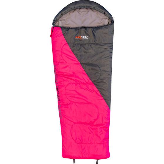 Blackwolf Star 500 Sleeping Bag Pink, Pink, bcf_hi-res