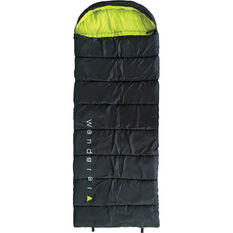 Wanderer Singe Hooded Sleeping Bag, , bcf_hi-res