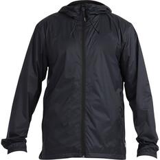 Quiksilver Waterman Men's Technical Rain Jacket Black S, Black, bcf_hi-res