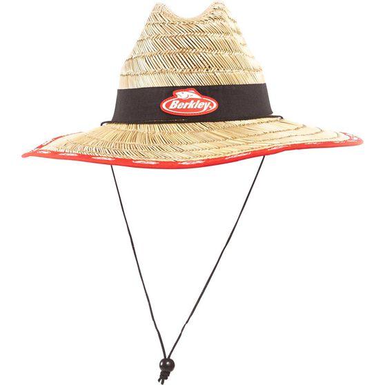 Berkley Unisex Logo Straw Hat, , bcf_hi-res