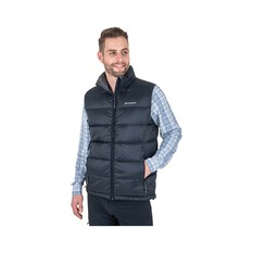 Macpac Men's Halo Down Vest Black S, Black, bcf_hi-res