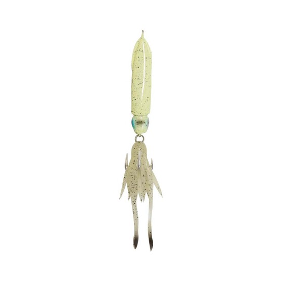 Savage 3D Squid Jig Lure 120g Green Eye Glow, Green Eye Glow, bcf_hi-res