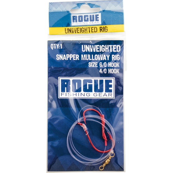 Rogue Unweighted Snapper / Mulloway Rig, , bcf_hi-res