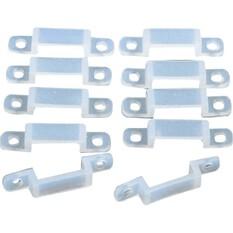BLA Strip Lighting Mounting Clips 10 Pack, , bcf_hi-res