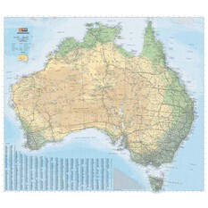 Hema Australia Road and Terrain Map, , bcf_hi-res