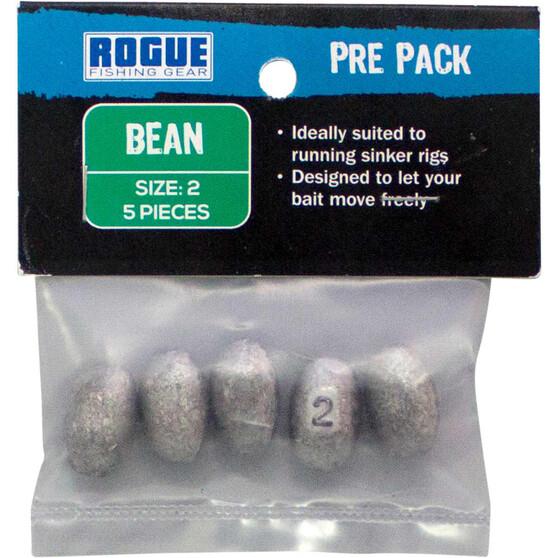 Rogue PP Bean Sinker Size 2 5 Pack, , bcf_hi-res