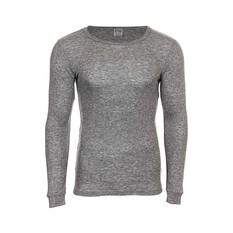 OUTRAK Polypro Men's Long Sleeve Top Grey Marle S, Grey Marle, bcf_hi-res