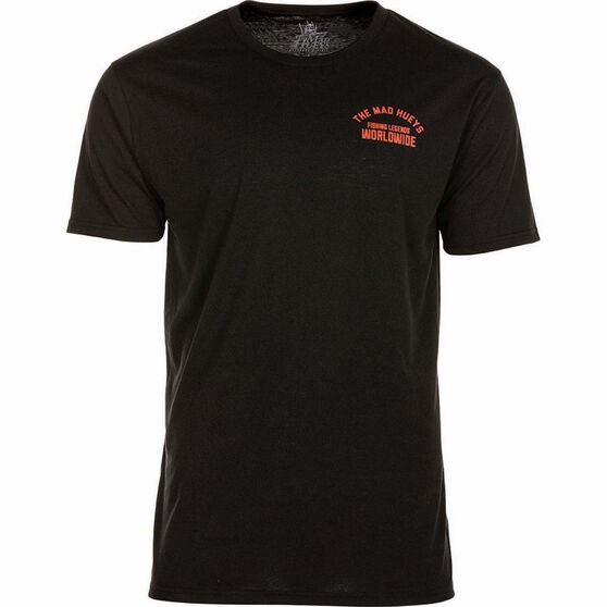 The Mad Hueys Men's Legends Worldwide UV Tee Black / Red 2XL, Black / Red, bcf_hi-res