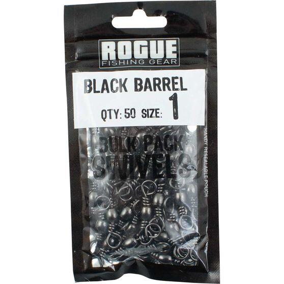 Rogue Black Barrel Swivel 50 Pack, , bcf_hi-res