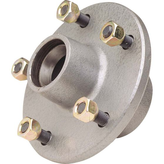 Galvanised Hub to suit Ford 6in, , bcf_hi-res