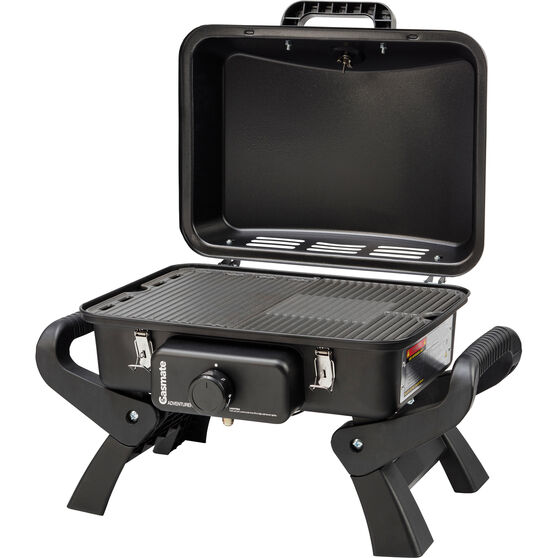 Gasmate Adventurer Deluxe Single Burner Portable BBQ, , bcf_hi-res