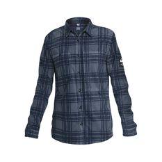 Quiksilver Waterman Men's North Sea Expedition Long Sleeve Shirt Navy Iris S, Navy Iris, bcf_hi-res