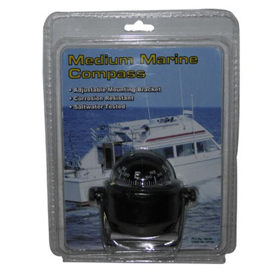 Ritchie Medium Adjustable Marine Compass, , bcf_hi-res