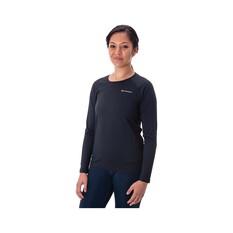 Macpac Women's Eyre Long Sleeve Tee Black 8, Black, bcf_hi-res