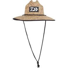 Daiwa Men's Print Straw Hat, , bcf_hi-res